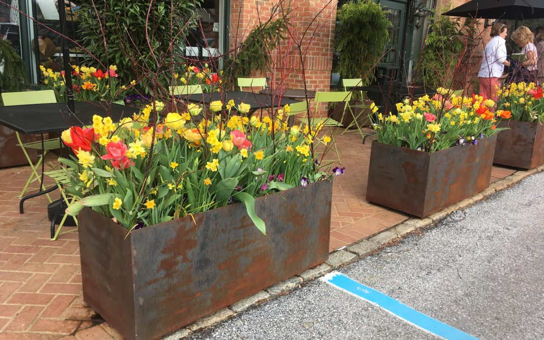 Let Us Design Your Spring Containers!
